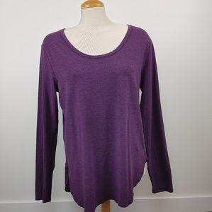 LULULEMON | love scoop Long sleeve purple